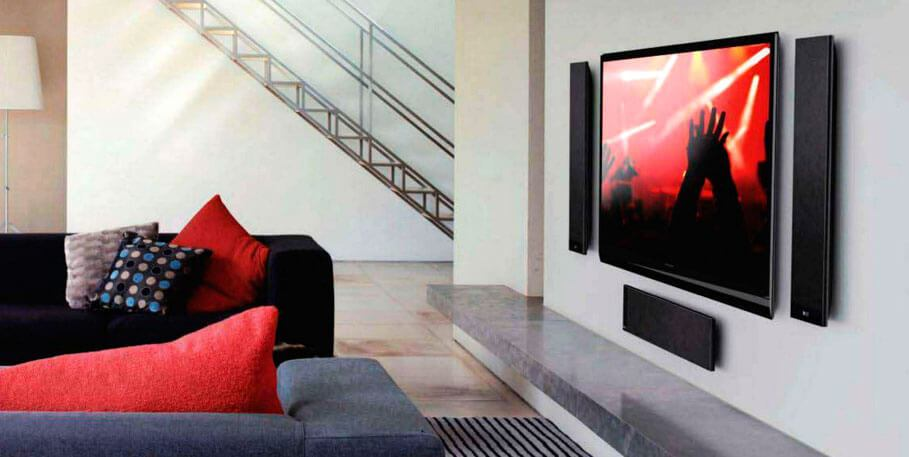 Instalacion soportes pared televisor led smart panasonic lg ...